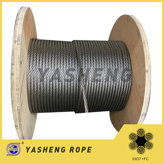 6×37 Stainless Steel Wire Rope